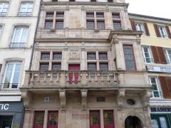 Maison dite du Bailli - Français:   Epinal, 5 place des Vosges: Maison dite du Bailli. Classée MH en 1986.