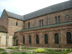 Abbaye -  Aile nord de l'abbaye d'Etival-Clairefontaine (Vosges)