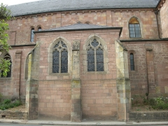 Abbaye -  Aile sud de l'abbaye d'Etival-Clairefontaine (Vosges)