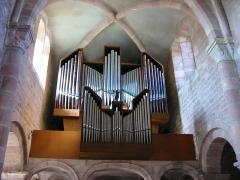 Abbaye -  L'orgue de l'abbaye d'Étival-Clairefontaine
