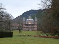 Filature - English: Castle of Moussey (Vosges)