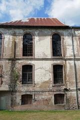 Ancienne abbaye - Français:   Abbaye de Moyenmoutier en cours de restauration (août 2018).