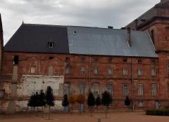 Ancienne abbaye - Français:   Bâtiment des dames (dans l\'aile nord)