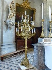 Ancienne abbaye - Français:   Abbaye de Moyenmoutier (Vosges): chandelier