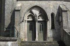 Eglise Saint-Christophe -  Katholische Kirche Saint-Christophe in Neufchâteau im Département Vosges (Lothringen/Frankreich), Portal