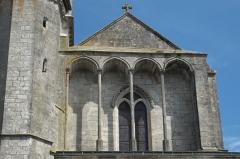 Eglise Saint-Christophe -  Katholische Kirche Saint-Christophe in Neufchâteau im Département Vosges (Lothringen/Frankreich)
