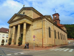 Eglise - Français:   Raon l\'Etape eglise saint luc