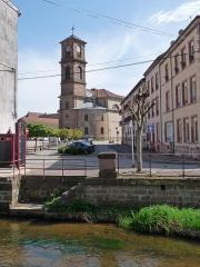 Eglise - Français:   Église Saint-Luc de Raon-l\'Étape (Vosges)