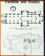 Abbaye - Deutsch: Grundriss des