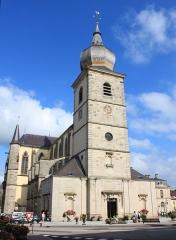 Abbaye -  Abbatiale Saint-Pierre (Remiremont, Vosges, Lorraine, France)