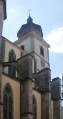 Abbaye -  Abbatiale Saint-Pierre, Remiremont, Vosges, France