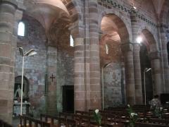 Petite église attenant à la cathédrale (Eglise Notre-Dame) -  Nef romane de l'église Notre-Dame de Galilée (Saint-Dié-des-Vosges)