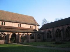 Petite église attenant à la cathédrale (Eglise Notre-Dame) -  Cloître gothique de la cathédrale de Saint-Dié-des-Vosges