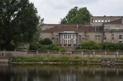Maison romaine - Vue d'Épinal, dans le département des Vosges en France.