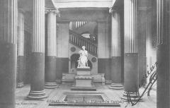 Maison romaine - Atrium de la Maison romaine à Epinal construite en 1892, carte postale ancienne (début 20ème siècle) par Alphonse Kopf