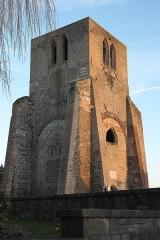 Ancienne abbaye Saint-Winoc - Deutsch: Ehemaliges Benediktinerkloster Abbaye de Saint-Winoc in Bergues im Département Nord (Hauts-de-France/Frankreich)