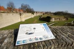 Enceinte fortifiée -  Rempart à Bergues