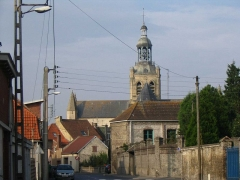 Eglise Saint-Jean-Baptiste -  Eglise Saint-Jean-Baptiste de Bourbourg.  Par Antoine.