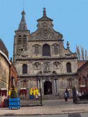 Eglise Saint-Martin - English: The abbatial church of Saint-Martin (17th century)  Le Cateau Cambrésis, France
