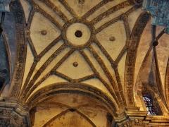 Eglise Saint-Martin - English: Vault over the main altar of the abbatial church of Saint-Martin (17th century)  Le Cateau Cambrésis, France