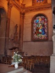 Eglise Saint-Martin - English: Right transept of the abbatial church of Saint-Martin (17th century)  Le Cateau Cambrésis, France