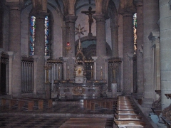 Eglise Saint-Martin - English: Apse and choir of the abbatial church of Saint-Martin (17th century)  Le Cateau Cambrésis, France