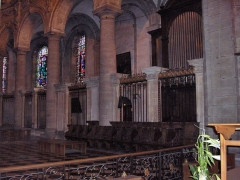 Eglise Saint-Martin - English: Choir of the abbatial church of Saint-Martin (17th century)  Le Cateau Cambrésis, France