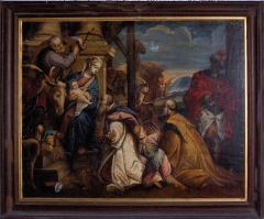Eglise Saint-Martin - English: Old painting
