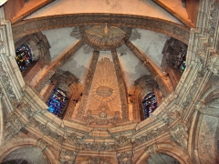 Eglise Saint-Martin - English: Vault over the apse of the church of Saint-Martin (17th century) Le Cateau Cambrésis, France