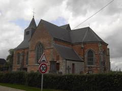 Eglise dédiée à la Conversion de Saint-Paul - Nederlands: Clairfayts - Nord the France - France