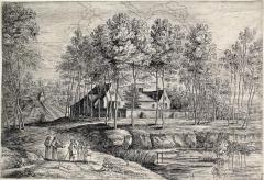 Ancien couvent des Capucins, dans le Jardin des Plantes - Couvent des capucins de Tervuren