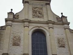Ancien couvent des Chartreux - Façade de l'église des Chartreux, musée de la Chartreuse de Douai