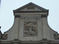 Ancien couvent des Chartreux - Fronton de l'église des Chartreux, Musée de la Chartreuse de Douai