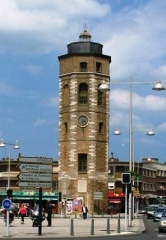 Tour du Leughenaer - Nederlands: Toren van de Leughenaer te Duinkerke.