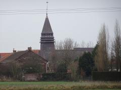 Eglise Saint-Martin d'Houplin -  Église Saint-Martin Houplin-Ancoisne  Nord en Hauts-de-France. France