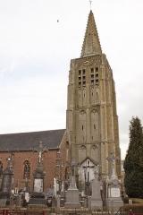 Eglise Saint-Antoine - Nederlands: Houtkerque Kerk.