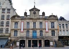Bâtiment dit la Grande Garde - Deutsch: Theater des Nordens am Großen Platz/Platz Charles de Gaulle, Lille, Département Nord, Region Oberfrankreich (ehemals Nord-Pas-de-Calais), Frankreich