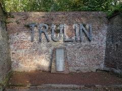 Citadelle de Lille -  Lille Monument à Léon Trulin, fossé septentrional de la citadelle  Hauts-de-France France.