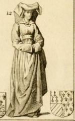 Vestiges de l'ancienne collégiale Saint-Pierre - Čeština: Agnes of Burgundy (1476)