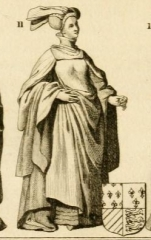 Vestiges de l'ancienne collégiale Saint-Pierre - Čeština: Anne of Burgundy