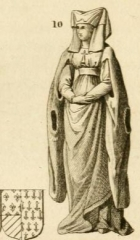 Vestiges de l'ancienne collégiale Saint-Pierre - Čeština: Catherine of Burgundy (1391–1414)