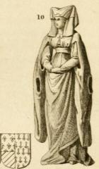 Vestiges de l'ancienne collégiale Saint-Pierre - Čeština: Catherine of Burgundy (1391–1414)