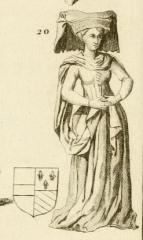 Vestiges de l'ancienne collégiale Saint-Pierre - Čeština: Catherine of Burgundy