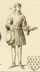 Vestiges de l'ancienne collégiale Saint-Pierre - Čeština: Charles de Bourgogne (1414-1464)