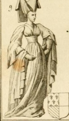 Vestiges de l'ancienne collégiale Saint-Pierre - Čeština: Isabelle of Burgundy (1395–1412)