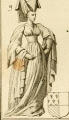 Vestiges de l'ancienne collégiale Saint-Pierre - Čeština: Isabelle of Burgundy (1395–1412)