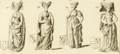 Vestiges de l'ancienne collégiale Saint-Pierre - Čeština: Triple gisant de Louis de Male, Marguerite de Brabant et Marguerite de Male, 1454–1455