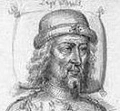 Vestiges de l'ancienne collégiale Saint-Pierre - English: Louis II of Flanders