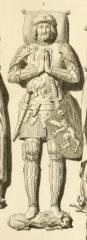 Vestiges de l'ancienne collégiale Saint-Pierre - Čeština: Louis II of Flanders
