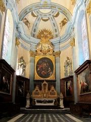 Eglise Sainte-Marie-Madeleine - Le chœur de l'église sainte Marie-Madeleine de Lille (Nord).